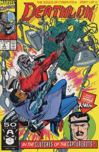 Deathlok (2nd Series) #2 VF/NM; Marvel | save on shipping - details inside
