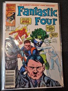 FANTASTIC FOUR#292 HITLER COVER 1986 MARVEL COMICS