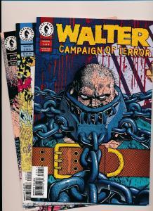 Lot of 3-Dark Horse Comics WALTER Campaign of TERROR #1,2,3  VERY FINE (SRU116)