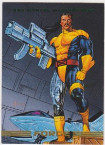 1993 Marvel Masterpieces #29 Forge