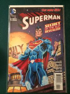 Superman #11 The New 52 Secret of the Suit Revealed!