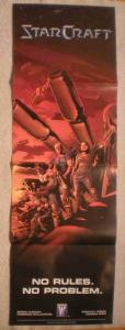 STARCRAFT Promo Poster, 11 x 34, 2009, Unused, more in our store
