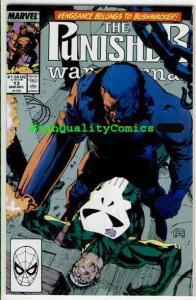 PUNISHER WAR JOURNAL #13, NM+, Jim Lee, Bushwacker, more PWJ in store