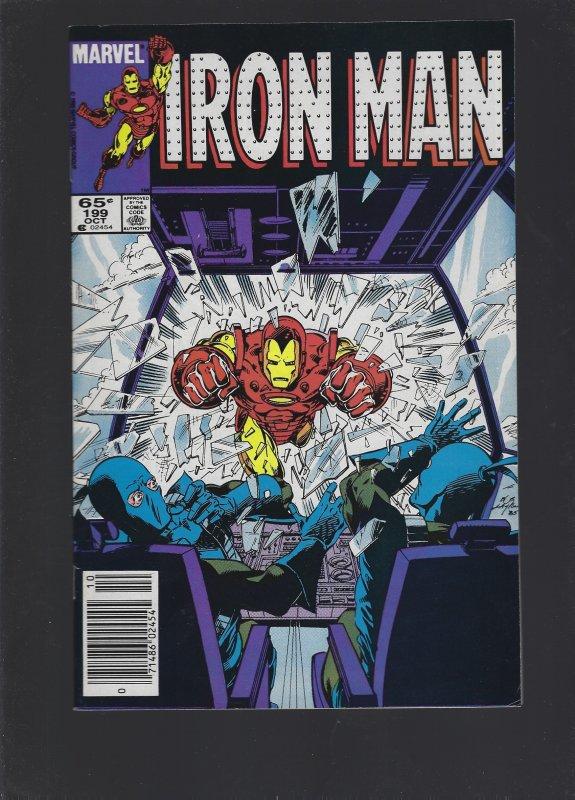 Iron Man #199 (1985)