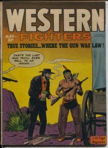 Western Gunfighters Vol. 2 #6 1950-Hillman-Gerald McCann-classic cover-FN