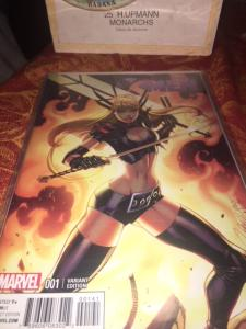 Extraordinary X-men #1 Magik Variant J Campbell Cover