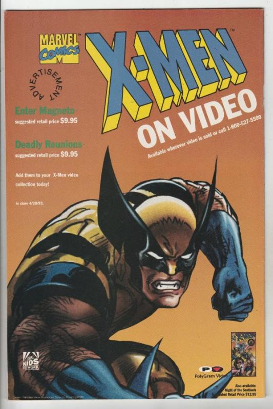 X-Men #296 (Jan-93) VF High-Grade X-Men