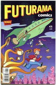FUTURAMA #71, NM, Bongo, Fry, Bender, Leela, Prof Farnsworth, more in store