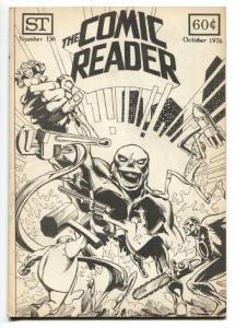 The Comic Reader Fanzine #136 1976- 1st illustration of Ms. Marvel