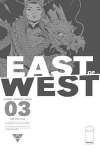 East of West #3, NM- (Stock photo)