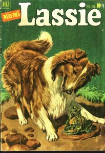 LASSIE #5 M-G-M MOVIE COLLIE EGYPTIAN COLLECTION 1951 FR/G