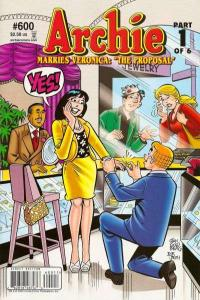 Archie Comics #600, NM + (Stock photo)