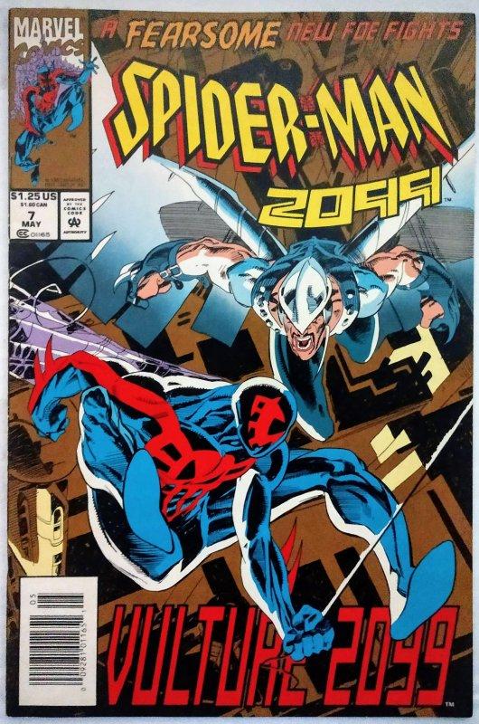 Spiderman 2099 #7 NEWSSTAND (VF/NM)(1994)