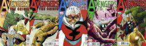 AVENGERS THE ORIGIN (2010) 1-5  the COMPLETE series!