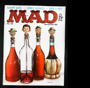 Mad (1952 series) #42, Fine+ (Actual scan)