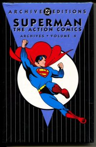 Superman: The Action Comics Archives 4 hardcover- sealed