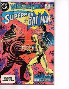 DC Comics World's Finest Comics #304 VF+ Klaus Janson Cover