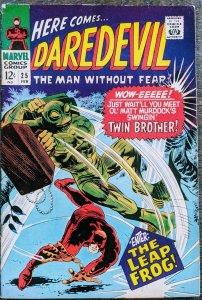 Daredevil #25 (1967) F+/VF - EXCELLENT SPEC BOOK!