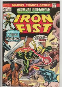 Marvel Premier #17 (Jul-74) VF/NM High-Grade Iron Fist