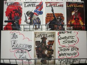 LOVELESS (2005 VERTIGO) 1-5  A Kin Of Homecoming