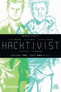 Hacktivist: Volume 2 (2015 series) #1, NM + (Stock photo)