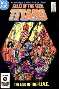 Tales of the Teen Titans #47, NM- (Stock photo)