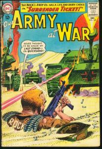 OUR ARMY AT WAR #149-SGT. ROCK-12 CENT VG