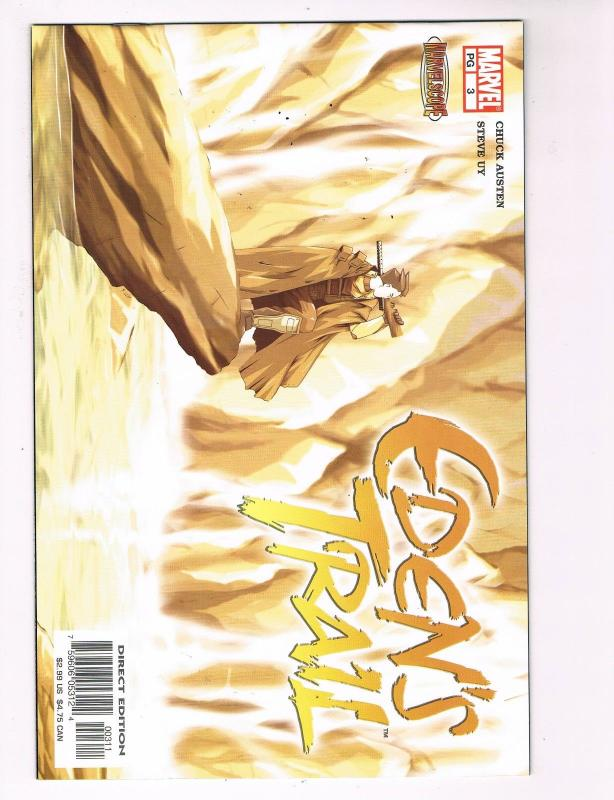 Edens Trail # 3 Marvel Comic Books Hi-Res Scans Modern Age Awesome Issue WOW! S4