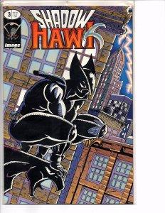 Image Comics (1992) Shadowhawk #3 Glow-In-The-Dark Cover Jim Valentino