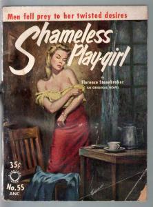 Croydon Books #55 1954-Shameless Playgirl-Stonebraker-Marchetti-VG-