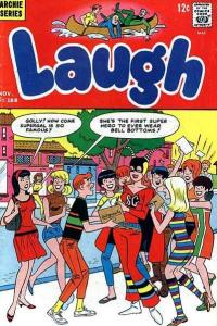 Laugh Comics #188, VG- (Stock photo)