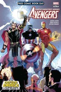 Free Comic Book Day 2018: Avengers #1, VF+ (Stock photo)