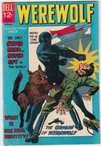 Werewolf Super-Hero #1 (Dec-66) VF High-Grade Werewolf