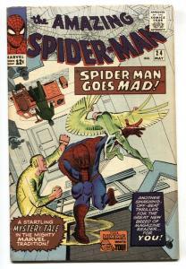 AMAZING SPIDER-MAN #24-SILVER AGE MARVEL-VULTURE-DITKO