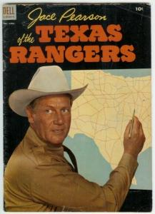 JACE PEARSON OF THE TEXAS RANGERS (1951-1954 DELL) 5 G- COMICS BOOK