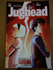 Jughead #10-11 set Archie Comics guest starring Sabrina The Teen-age Witch