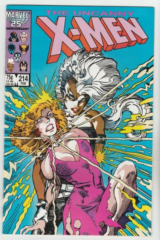 X-Men #214 (Feb-87) NM+ Super-High-Grade X-Men