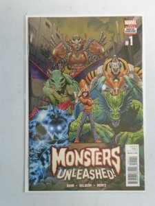 Monsters Unleashed #1 NM (2017 2nd Series)