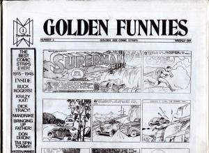 Golden Funnies #3 1973-newspaper comics reprints-Mandrake-Superman-Krazy Kat-NM