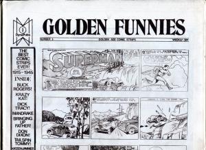 Golden Funnies #3 1973-newspaper comics reprints-Mandrake-Superman-Krazy Kat-NM