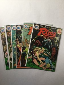 Rima The Jungle Girl 2 3 4 5 6 7 Lot Run Set Near Mint- Nm- 9.2 Dc Comics