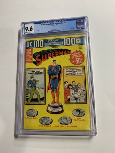 Dc 100 Page Spectacular 18 Cgc 9.6 Ow/w Pages Superman 100 Pages Bronze Age