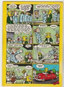 XYZ Comics #1 (Jan-72) VF High-Grade Bo Bo Bolinsky, John Q Public, Fuzzy the...