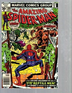 Amazing Spider-Man # 166 NM- Marvel Comic Book MJ Vulture Goblin Scorpion TJ1