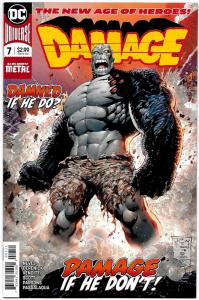 Damage #7 Dark Nights Metal (DC, 2018) NM