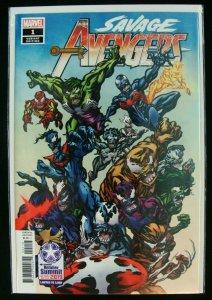 Marvel Savage Avengers #1 Venomized Variant Cover Las Vegas Retailer Summit 2019