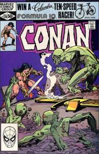 Marvel CONAN THE BARBARIAN (1970 Series) #128 VF/NM