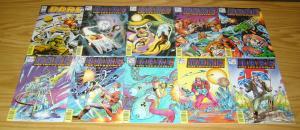 Dan Dare the Impossible #1-15 VF/NM complete series - fleetway/quality comics