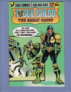 Judge Dredd The Early Cases #5 NM- Eagle Comics 1986