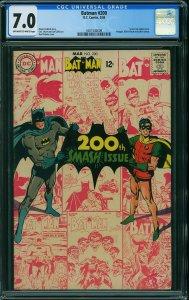 Batman # 200